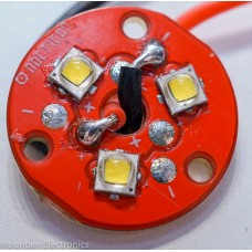 (3) CREE XP-G2 S4 3D LEDs on NOCTIGON 3XP COPPER MCPCB + PRE-BRIDGED