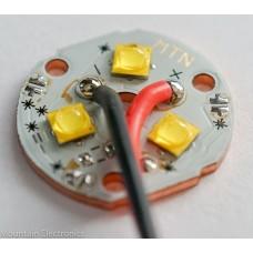 (3) CREE XP-G3 R3 4000K 90+ CRI LEDs on MTN 3XP COPPER MCPCB