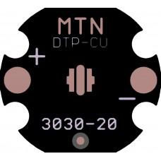 MTN 3030 20mm Copper MCPCB