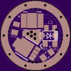 12mm MTN-12DD PCB - V1.0