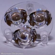 10507 Carclo Lens - 3-UP Narrow Spot Optic