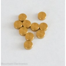 5mm x 2mm Brass Button