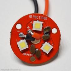 (3) CREE XP-L High-Intensity V3 1A LEDs on NOCTIGON 3XP MCPCB