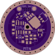 30mm Single-Sided FET + 7135 Driver PCB - V1.13 - MTN-30DDm
